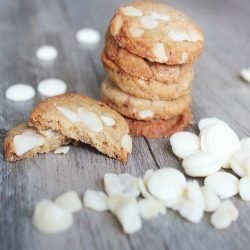 white chocolate lactation cookie